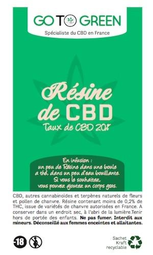 promo resine cbd taux puissant