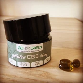 gelule cbd bio vegan 20 mg haute qualite puissante